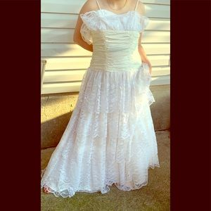 *Vintage Prom 1989* formal dress by Nadine